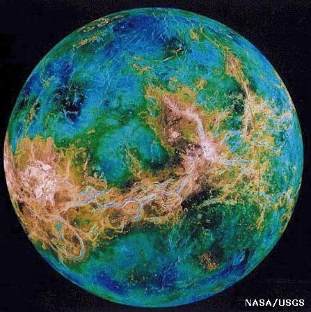 V nus for 6eme planete